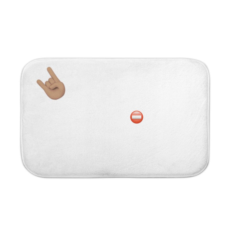 Lit-Tee Committee White Home Bath Mat by Official Track Junkee Merchandise