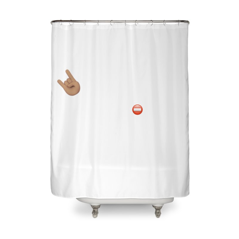Lit-Tee Committee White Home Shower Curtain by Official Track Junkee Merchandise