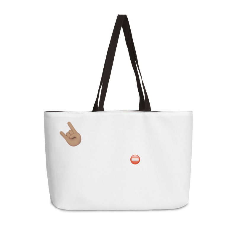 Lit-Tee Committee White Accessories Bag by Official Track Junkee Merchandise
