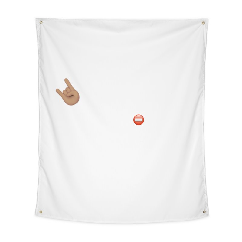 Lit-Tee Committee White Home Tapestry by Official Track Junkee Merchandise