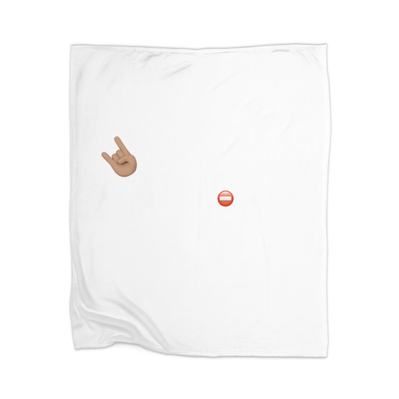 Lit-Tee Committee White Home Blanket by Official Track Junkee Merchandise