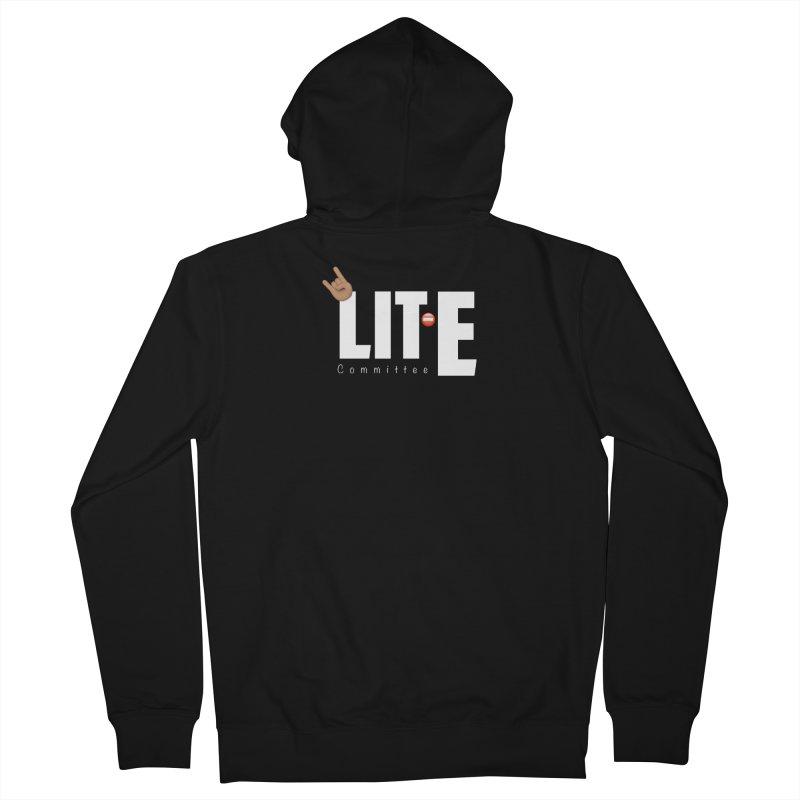Lit-Tee Committee White Women's Zip-Up Hoody by Official Track Junkee Merchandise