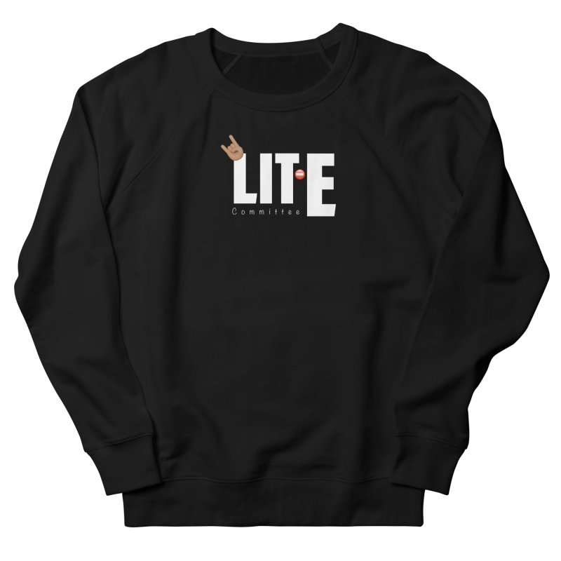 Lit-Tee Committee White Men's Sweatshirt by Official Track Junkee Merchandise
