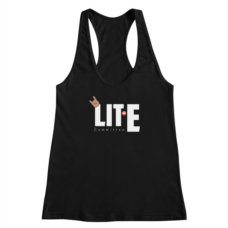 Lit-Tee Committee White Women's Tank by Official Track Junkee Merchandise