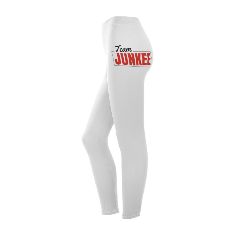 Team Junkee Womens Leggings Women's Bottoms by Official Track Junkee Merchandise