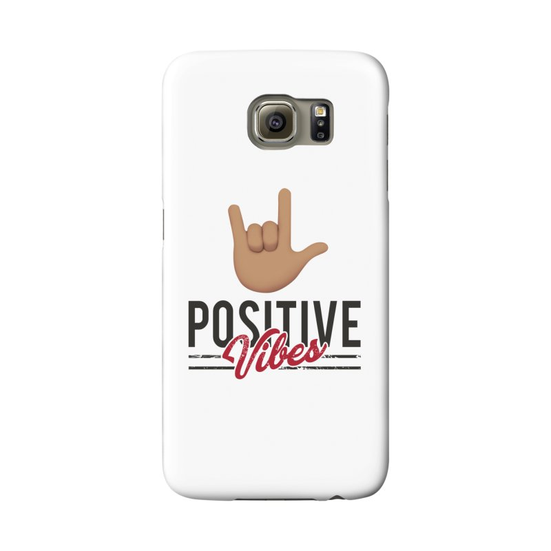 Positive Vibes Womens Leggings Accessories Phone Case by Official Track Junkee Merchandise