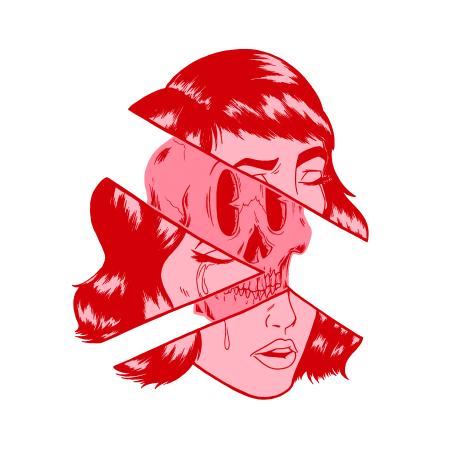 Logo for Tragic Girls