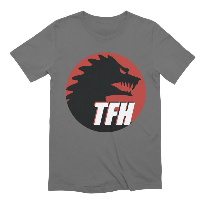 TFH BIG Logo Men's T-Shirt by TRAILERS FROM HELL