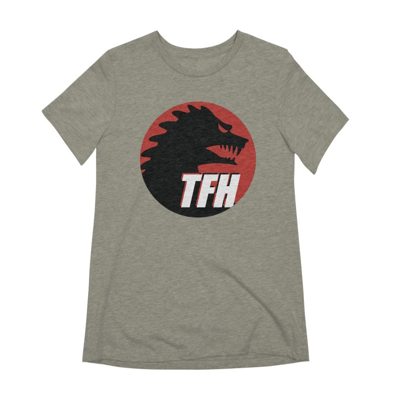 TFH BIG Logo Women's Extra Soft T-Shirt by TRAILERS FROM HELL