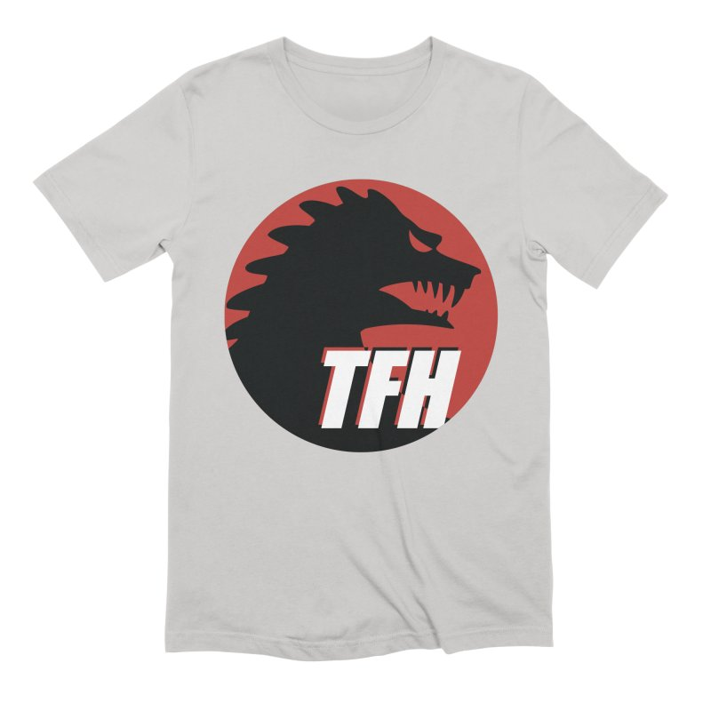 TFH BIG Logo Men's Extra Soft T-Shirt by TRAILERS FROM HELL