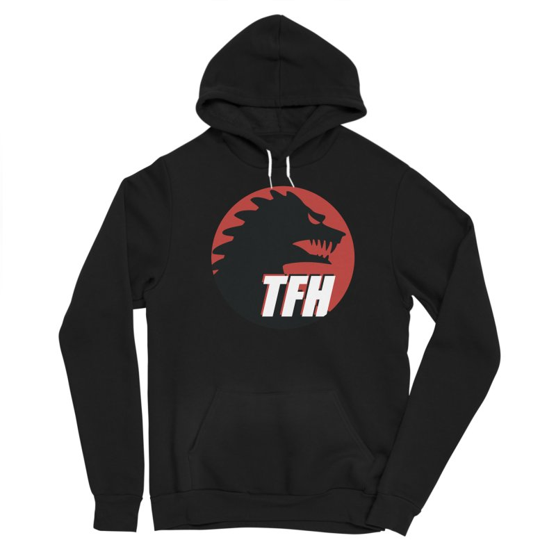 TFH BIG Logo Women's Sponge Fleece Pullover Hoody by TRAILERS FROM HELL