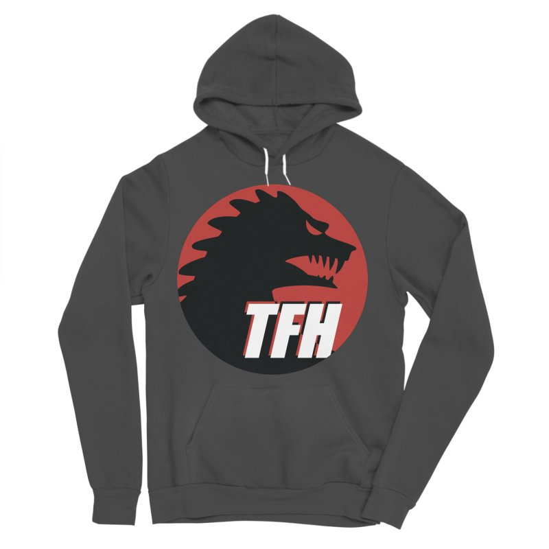 TFH BIG Logo Women's Sponge Fleece Pullover Hoody by TRAILERS FROM HELL