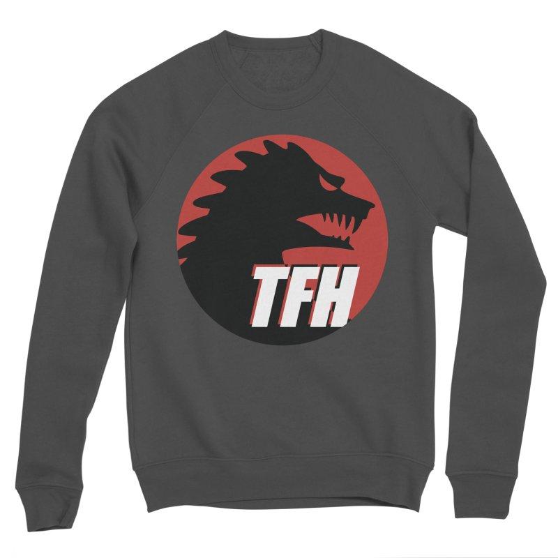 TFH BIG Logo Women's Sponge Fleece Sweatshirt by TRAILERS FROM HELL