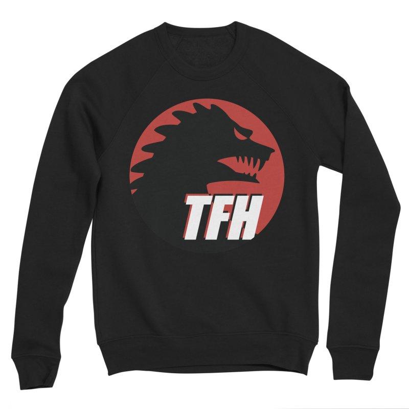 TFH BIG Logo Men's Sponge Fleece Sweatshirt by TRAILERS FROM HELL