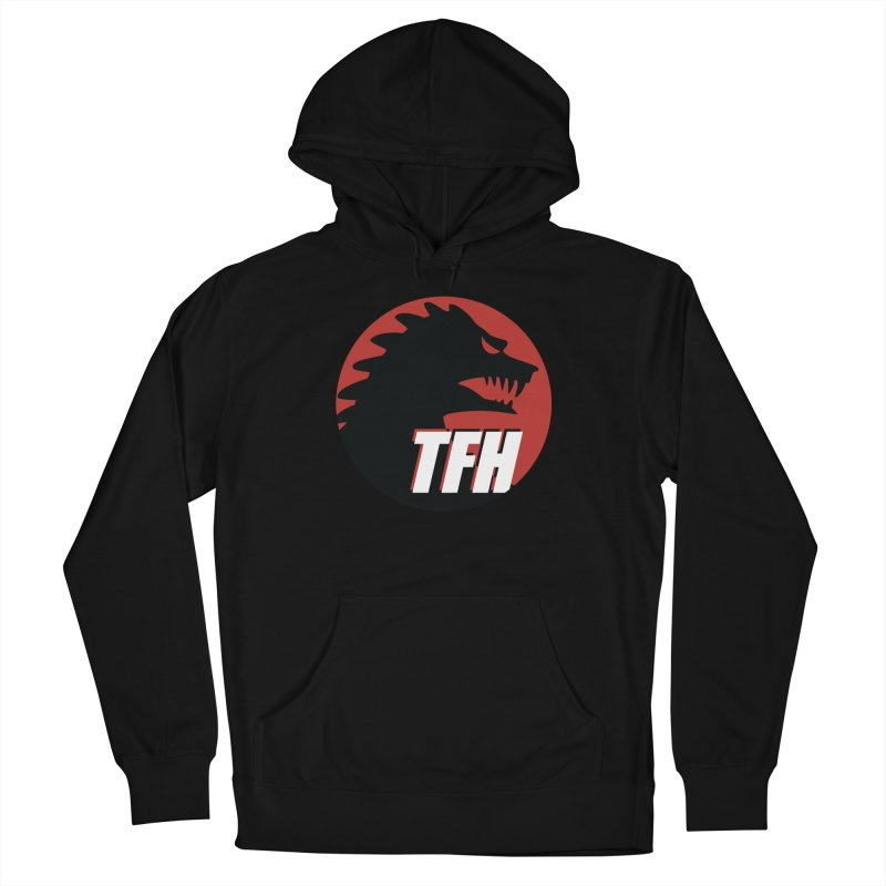 TFH BIG Logo Women's French Terry Pullover Hoody by TRAILERS FROM HELL