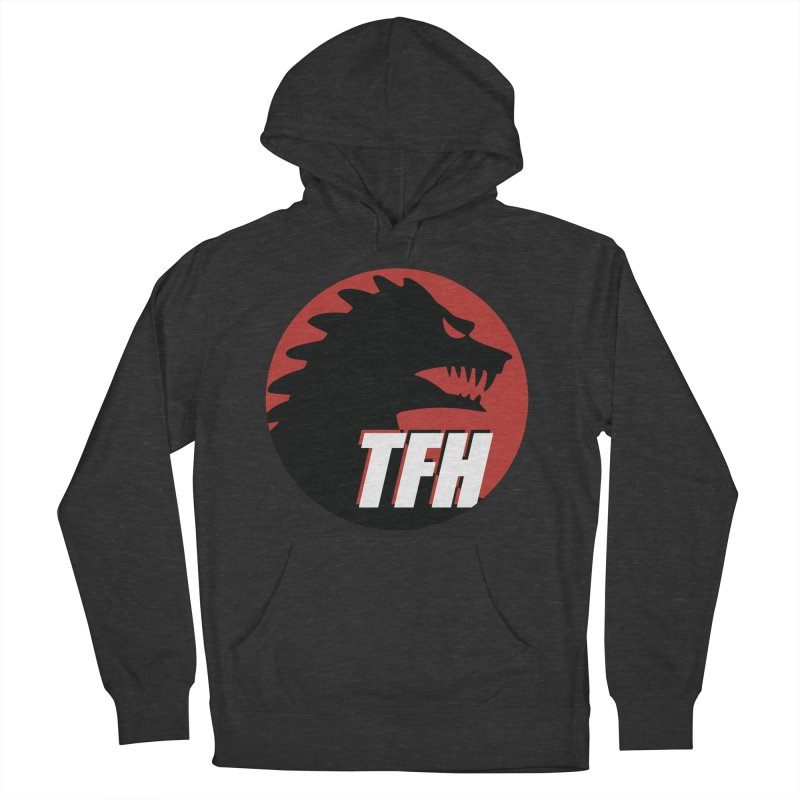 TFH BIG Logo Men's French Terry Pullover Hoody by TRAILERS FROM HELL