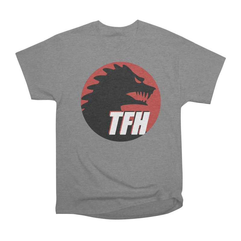 TFH BIG Logo Men's Heavyweight T-Shirt by TRAILERS FROM HELL