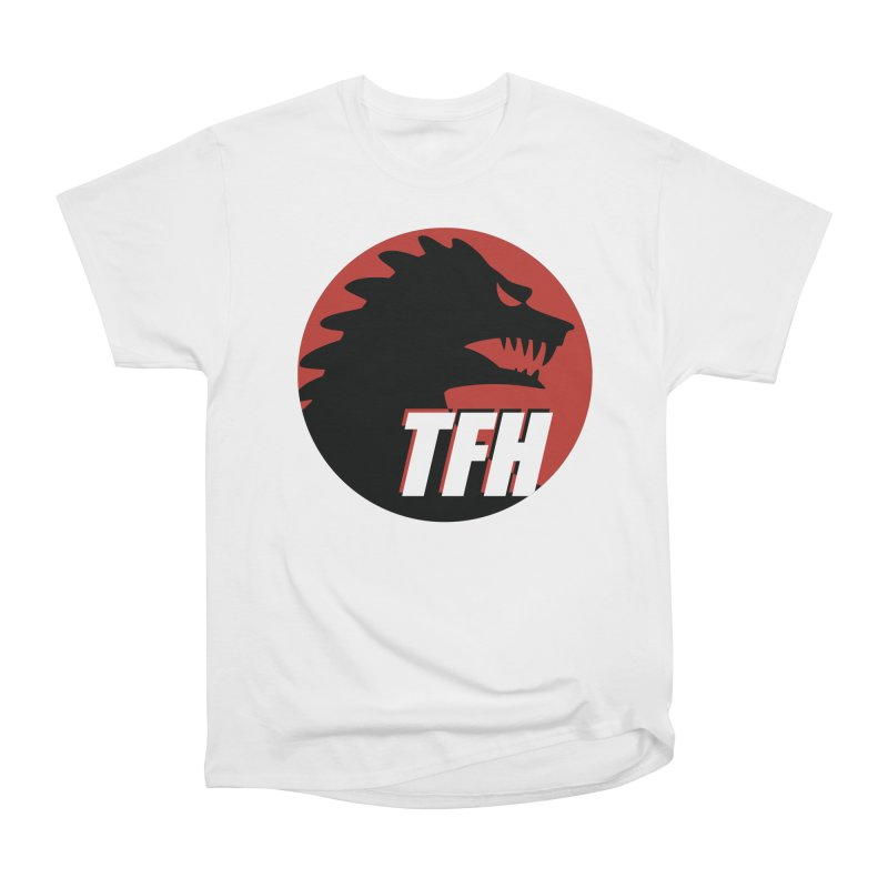 TFH BIG Logo Women's Heavyweight Unisex T-Shirt by TRAILERS FROM HELL