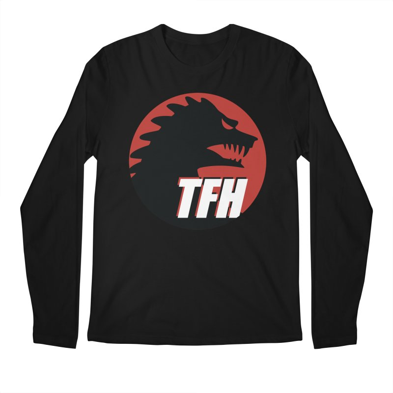 TFH BIG Logo Men's Regular Longsleeve T-Shirt by TRAILERS FROM HELL