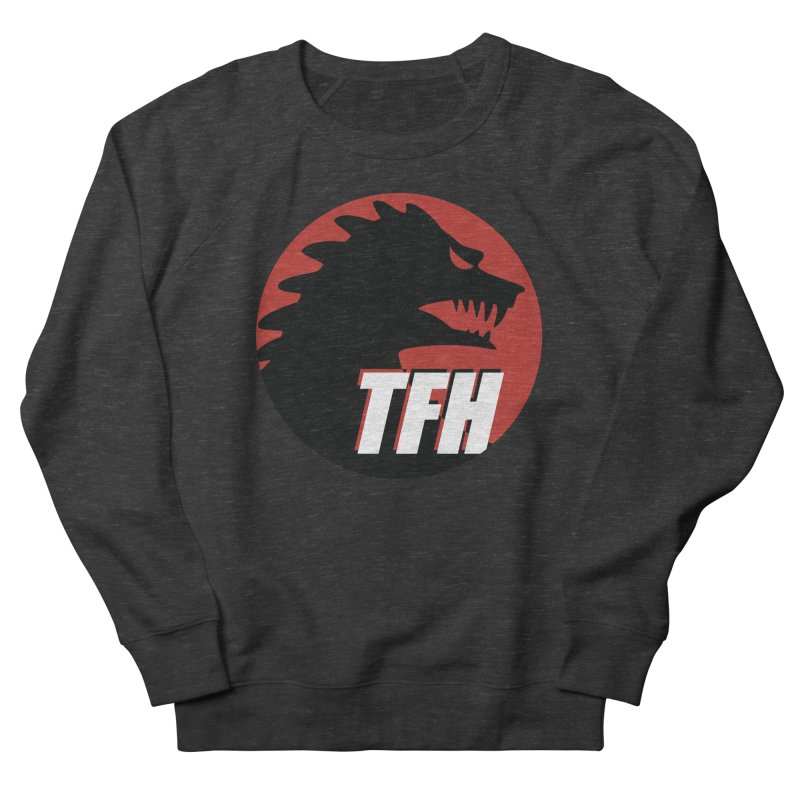 TFH BIG Logo Women's French Terry Sweatshirt by TRAILERS FROM HELL