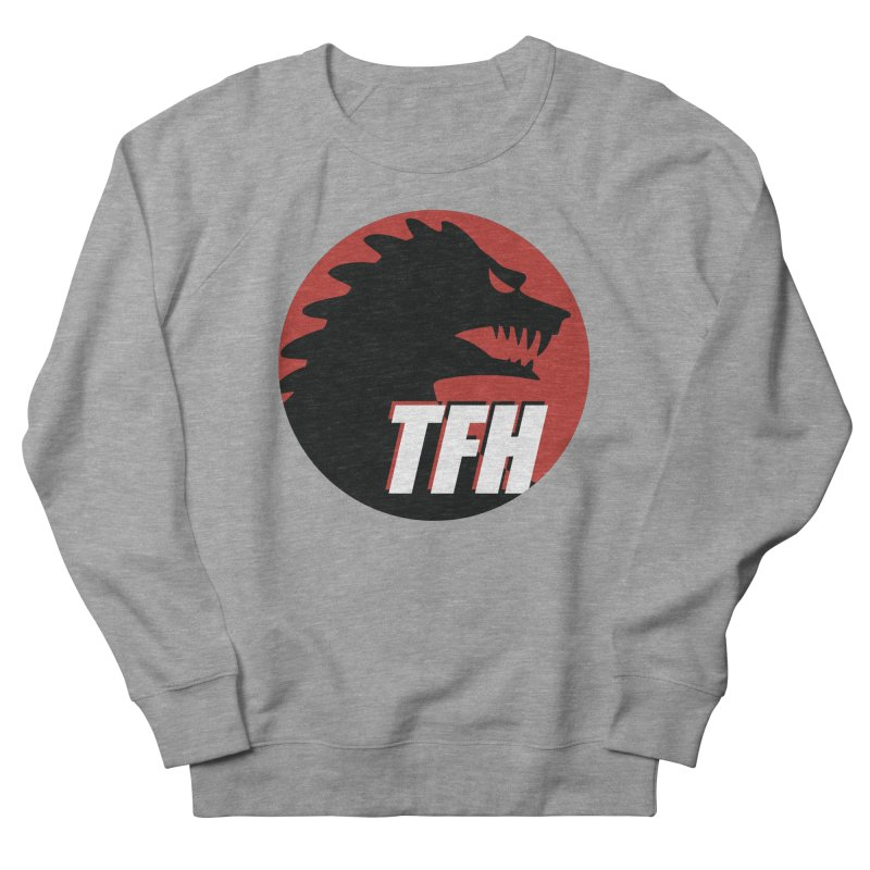 TFH BIG Logo Men's French Terry Sweatshirt by TRAILERS FROM HELL