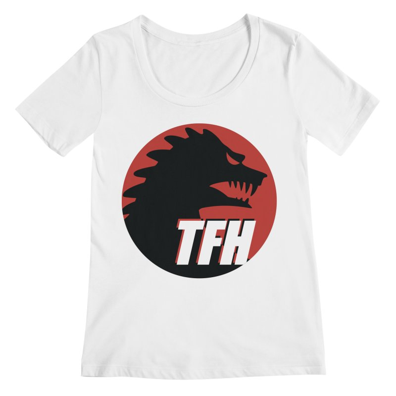 TFH BIG Logo Women's Regular Scoop Neck by TRAILERS FROM HELL
