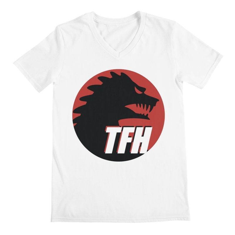 TFH BIG Logo Men's Regular V-Neck by TRAILERS FROM HELL