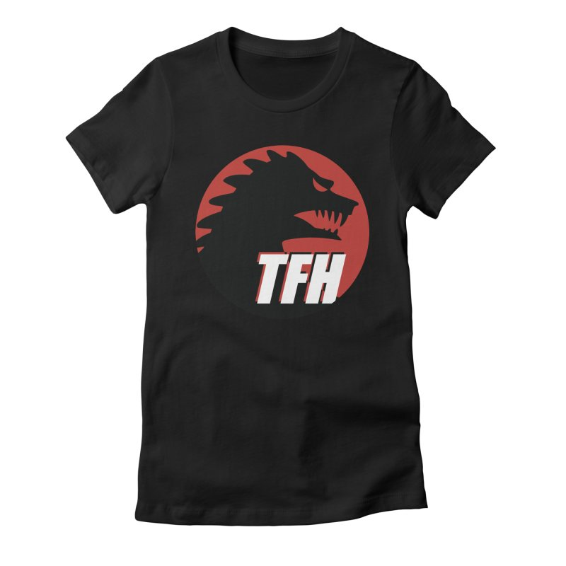 TFH BIG Logo Women's Fitted T-Shirt by TRAILERS FROM HELL
