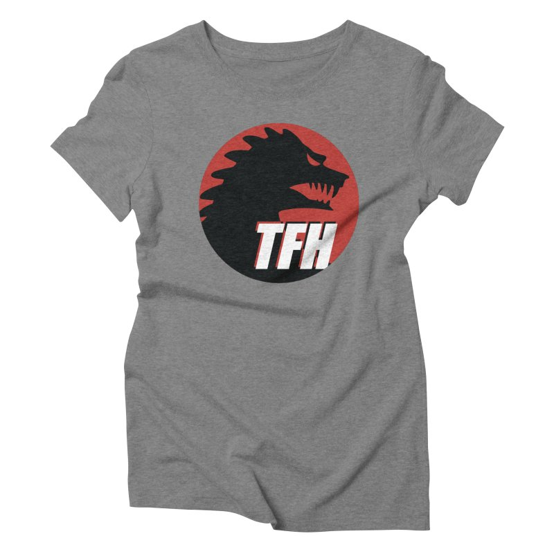 TFH BIG Logo Women's Triblend T-Shirt by TRAILERS FROM HELL