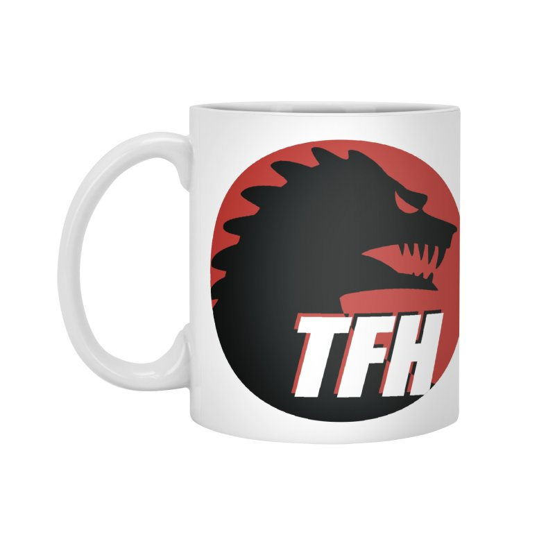 TFH BIG Logo Accessories Standard Mug by TRAILERS FROM HELL