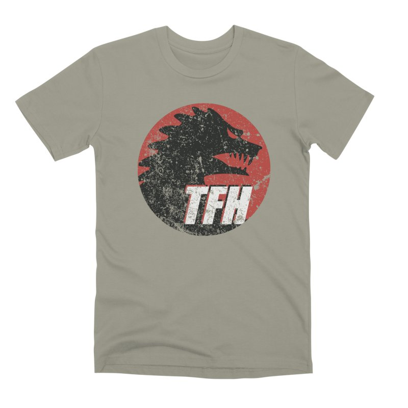 TFH Distressed Logo Men's Premium T-Shirt by TRAILERS FROM HELL