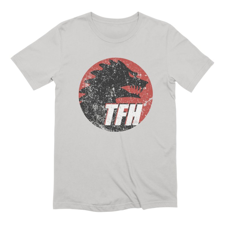 TFH Distressed Logo Men's Extra Soft T-Shirt by TRAILERS FROM HELL