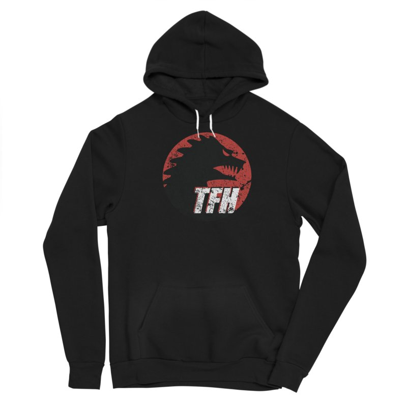 TFH Distressed Logo Men's Sponge Fleece Pullover Hoody by TRAILERS FROM HELL