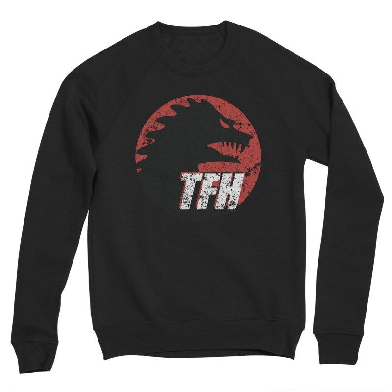 TFH Distressed Logo Women's Sponge Fleece Sweatshirt by TRAILERS FROM HELL
