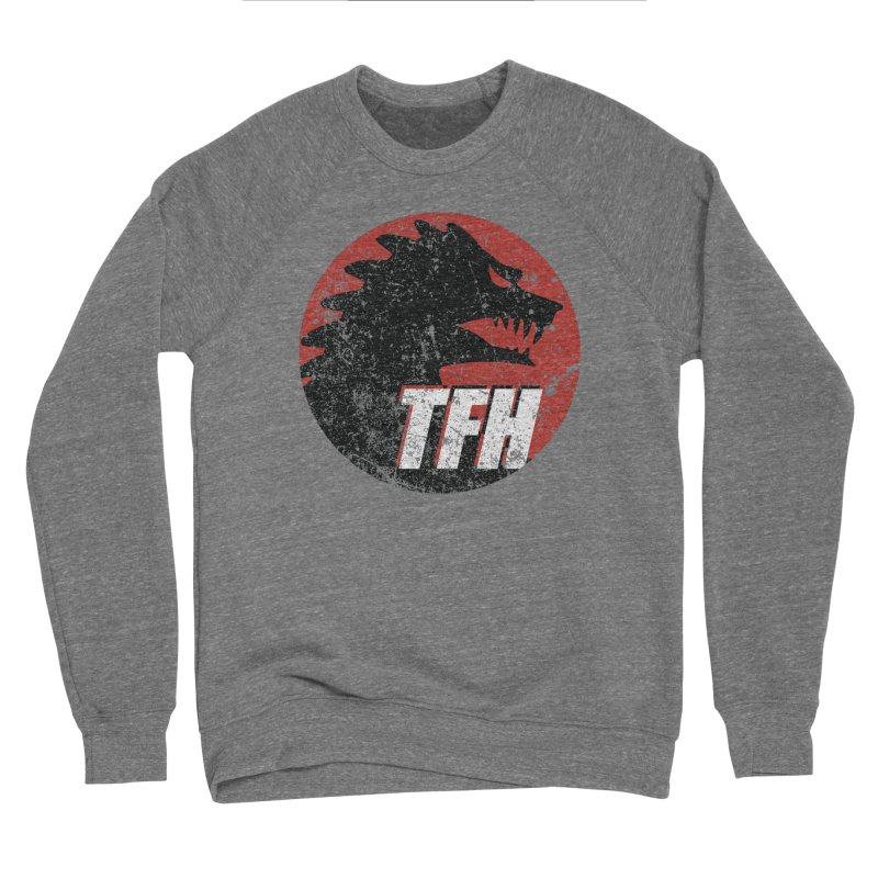 TFH Distressed Logo Women's Sponge Fleece Sweatshirt by TRAILERS FROM HELL