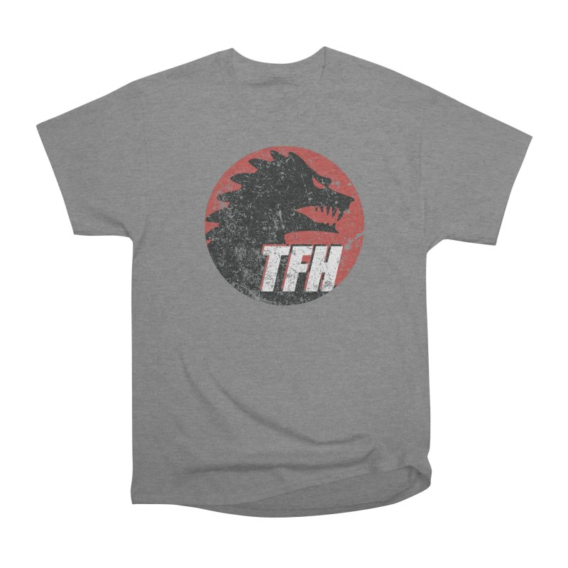 TFH Distressed Logo Men's Heavyweight T-Shirt by TRAILERS FROM HELL