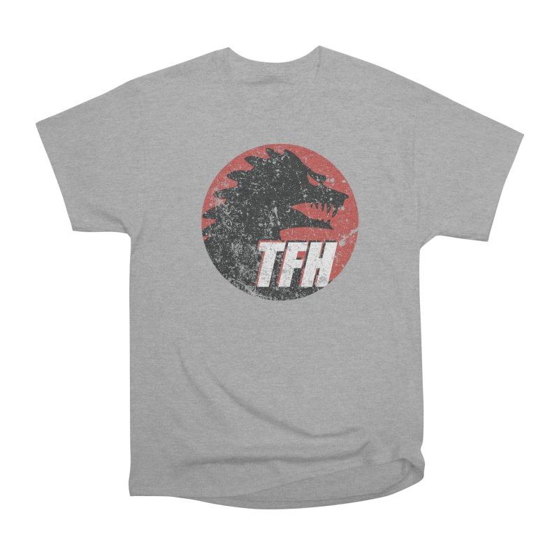 TFH Distressed Logo Women's Heavyweight Unisex T-Shirt by TRAILERS FROM HELL