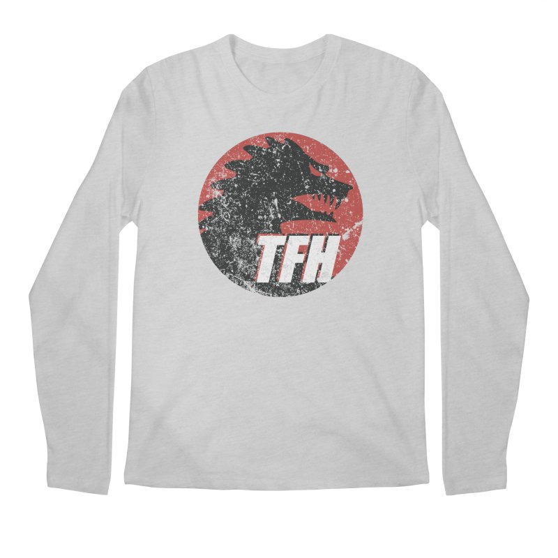 TFH Distressed Logo Men's Regular Longsleeve T-Shirt by TRAILERS FROM HELL