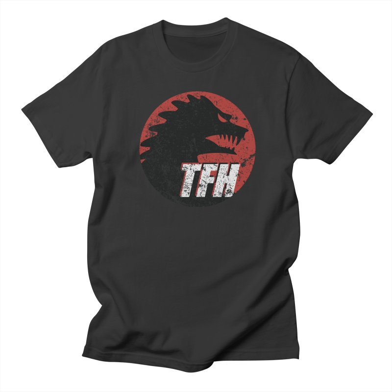 TFH Distressed Logo Women's Regular Unisex T-Shirt by TRAILERS FROM HELL