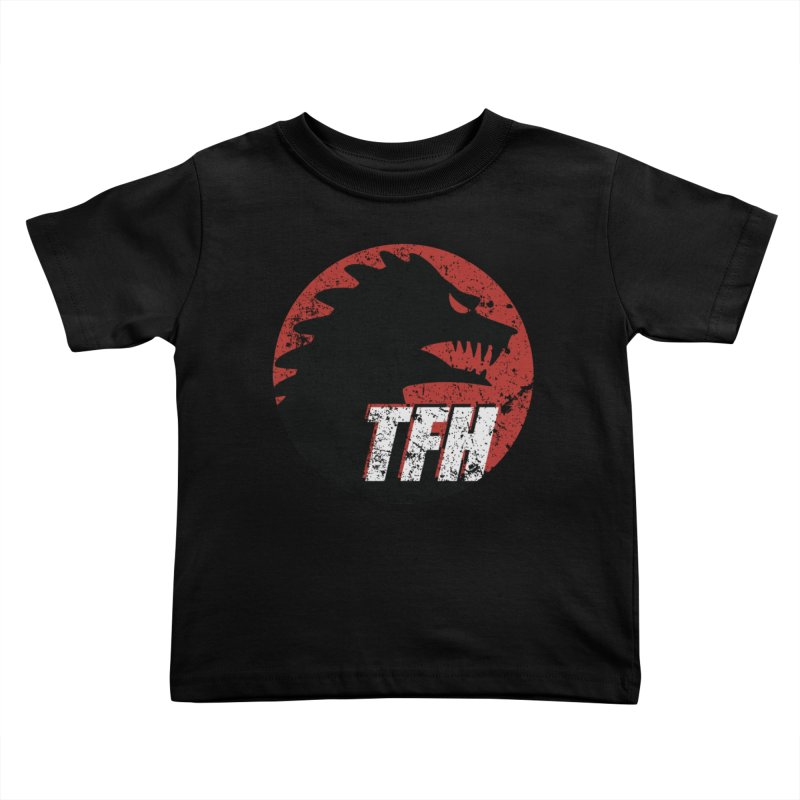 TFH Distressed Logo Kids Toddler T-Shirt by TRAILERS FROM HELL