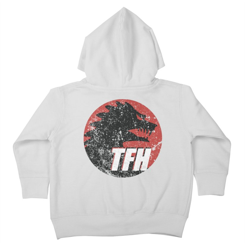 TFH Distressed Logo Kids Toddler Zip-Up Hoody by TRAILERS FROM HELL