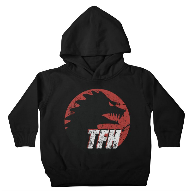 TFH Distressed Logo Kids Toddler Pullover Hoody by TRAILERS FROM HELL