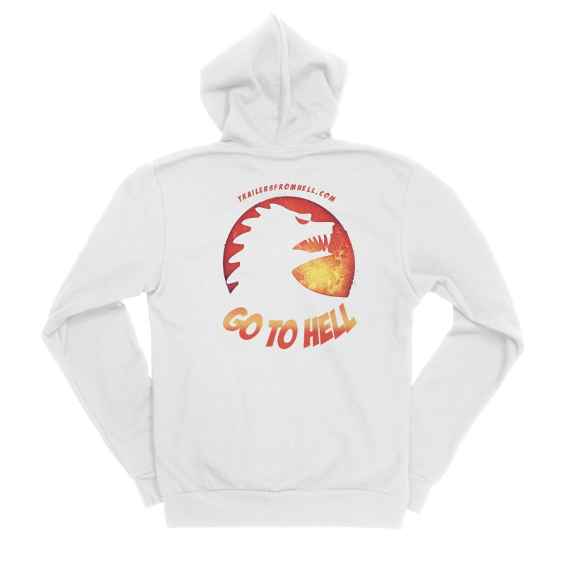 GO TO HELL Women's Zip-Up Hoody by TRAILERS FROM HELL