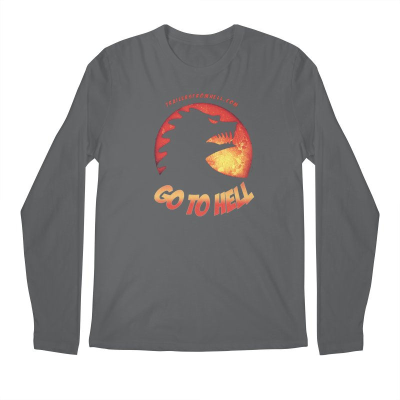 GO TO HELL Men's Longsleeve T-Shirt by TRAILERS FROM HELL