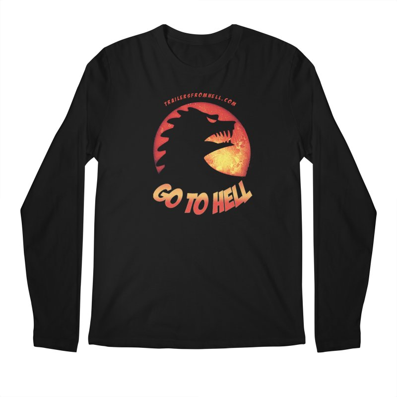GO TO HELL Men's Regular Longsleeve T-Shirt by TRAILERS FROM HELL
