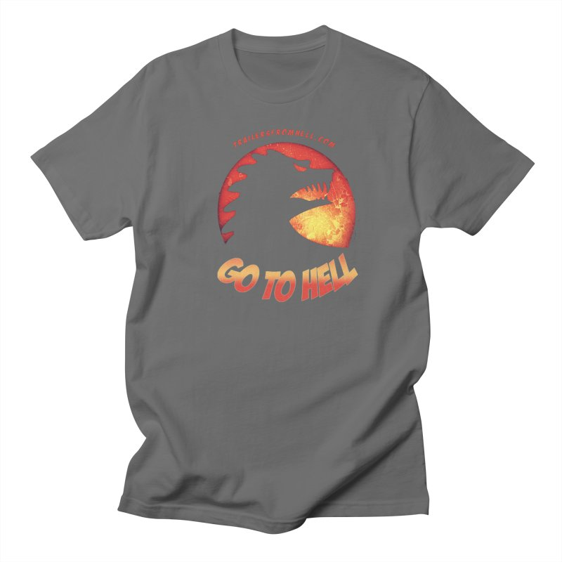 GO TO HELL Men's T-Shirt by TRAILERS FROM HELL