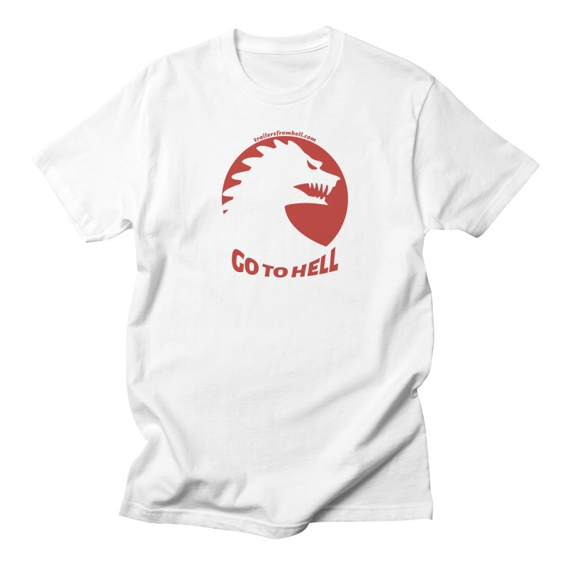 GO TO HELL - Classic Single Color Logo Women's Regular Unisex T-Shirt by TRAILERS FROM HELL