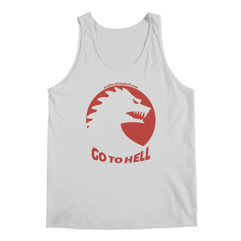 GO TO HELL - Classic Single Color Logo Men's Regular Tank by TRAILERS FROM HELL