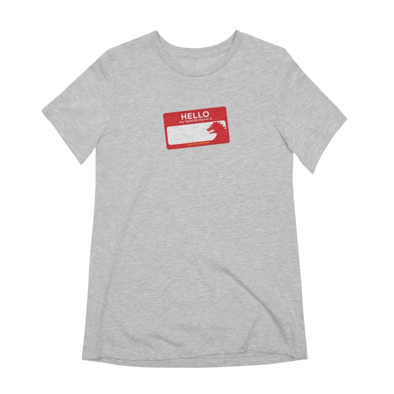 TFH Name Tag Women's Extra Soft T-Shirt by TRAILERS FROM HELL