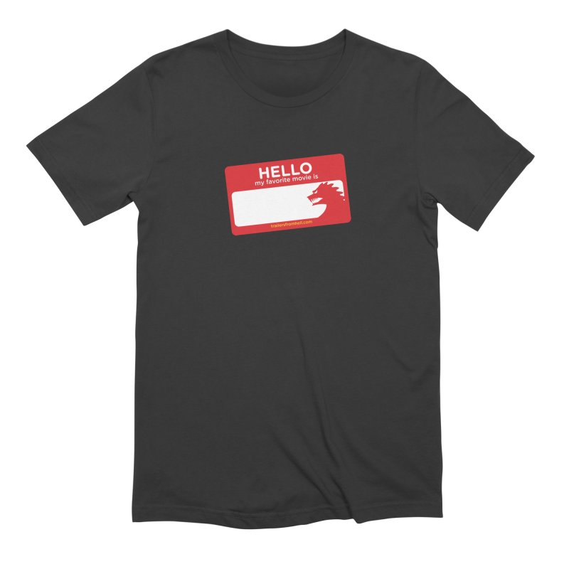TFH Name Tag Men's Extra Soft T-Shirt by TRAILERS FROM HELL